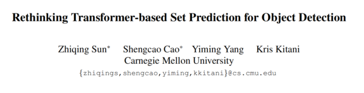 Rethinking Set Prediction for Object Detection